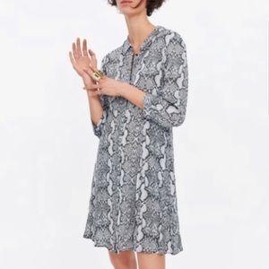 Zara Snake-print Dress
